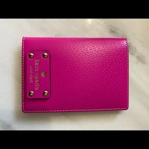 NWT Authentic Kate Spade Passport Holder Wallet